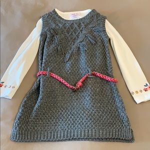 NWT Little Lass Top and Sweater Set
